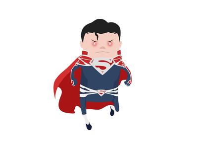 Superman superman digital art illustration dc comics
