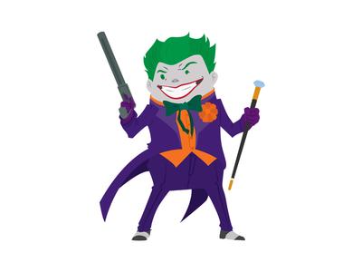 Joker joker illustration digital art dc comics