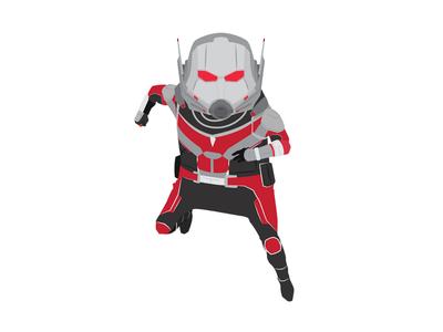 Antman comics marvel avengers antman digital art illustration