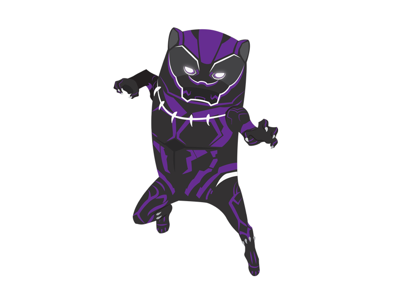 Black Panther super hero infinity war hero marvel illustration digital art comics avengers black panther