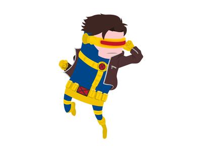 Cyclops character superhero marvel illustration hero digital art comics cyclops xmen