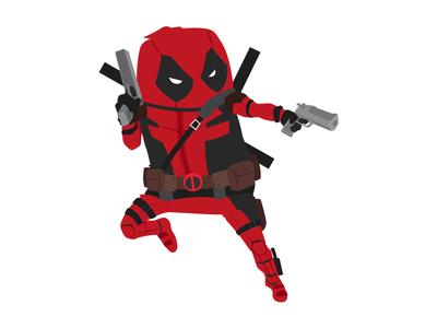 Deadpool xmen superhero marvel illustration hero digital art deadpool comics character