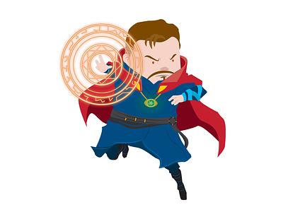 Doctor Strange marvel superhero heroes hero doctor stange digital art illustration