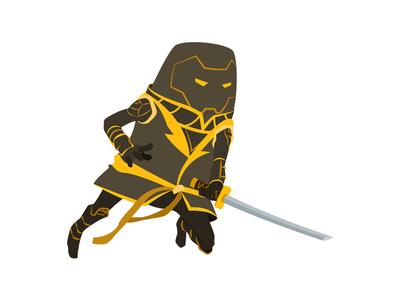 Ronin superhero marvel ronin illustration heroes hero digital art character avengers