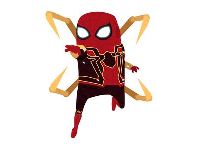 Spiderman superhero spiderman marvel illustration heroes hero digital art character avengers