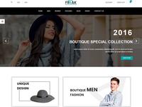 Freak – Boutique eCommerce psd template