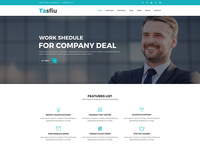 Tasfiu – Corporate PSD Template is available for selling right