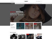 Artisty – Magazine PSD Template is available to sell right