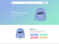 Tsrt – Single Product PSD Template Is Available For Sell Right