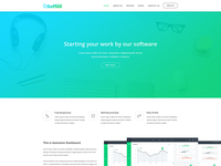 Softee - Software PSD Template