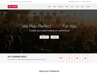 Voice – Event PSD Template Is Available For Sell Right