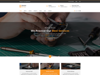 Mobile Mend - Mobile Repair PSD Template