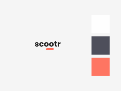 Scootr logo and primary colors