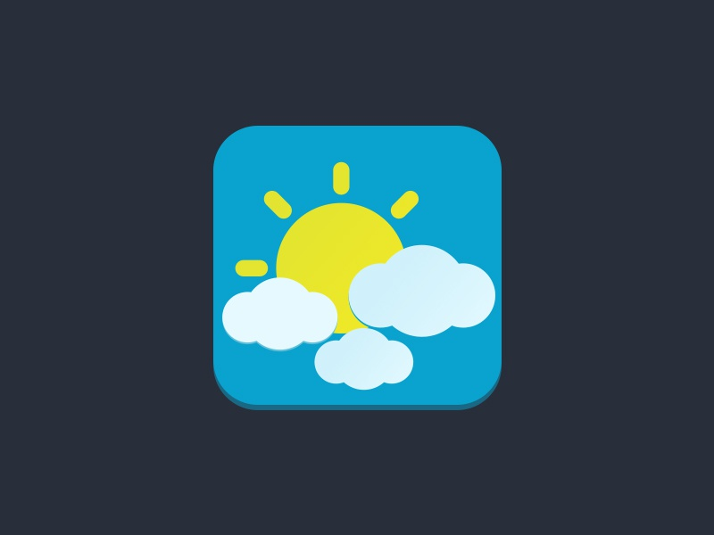 weather by preeti dribbble