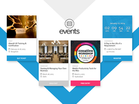 ebevents Homepage