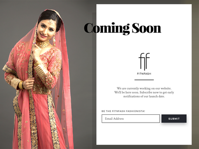 Coming Soon india beauty dress ethnic indian coming soon web design cloths clothing rent fit n fash