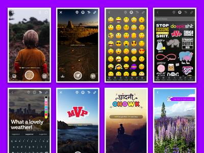 Pulse App - Quick Peek design app phone camera ux ui android hyperlocal location streams campus streams