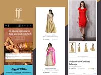 Fitnfash mobile version