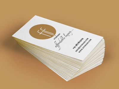 Fitnfash Business Card print india stationary visual identity businesscard branding clothing rent business card visiting card