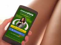 Junglee Rummy Redesign india ui rummy game responsive