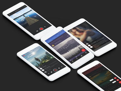 Instalively Mobile App ios design india ux ui user interface mobile app