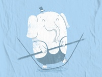 Tightrope Elephant