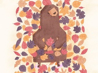 Leaf the Bear Alone He's Hibernating