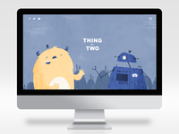 Thing or Two Website Design