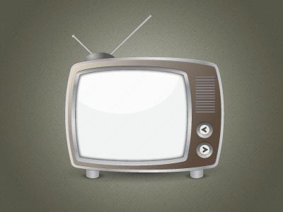 Retro TV-set tv retro vector vintage texture