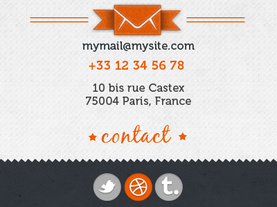 Contact Form (2) contact form layout web design mobile texture