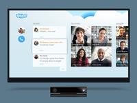 Skype for Xbox Hub