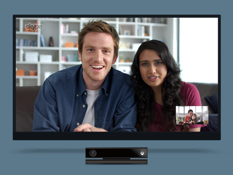Skype for Xbox Video Call by Robert Cooper | Dribbble | Dribbble