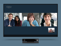 Skype for Xbox Group Video Call