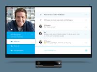 Skype for Xbox Conversation