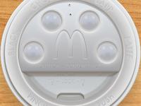 McDonald's Coffee Cup Lid