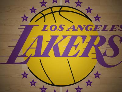 LA Lakers Court Wallpaper