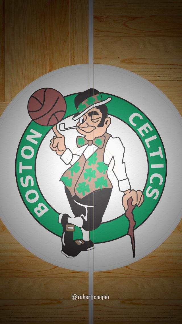 Dribbble Celtics Court Iphonejpg By Robert Cooper