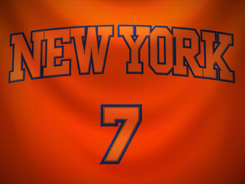 New York Knicks Christmas Day Jersey by Robert Cooper Dribbble