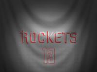 Ipad jersey christmas rockets harden