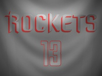 Houston Rockets Christmas Day Jersey