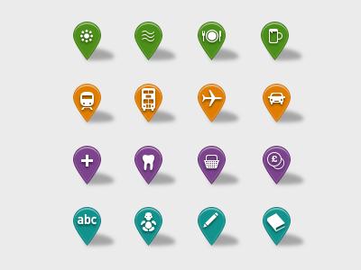 Map Pins by Robert Cooper - Dribbble