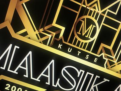 Gatsby Räpp typography vector illustration design