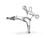Fighter study sketch
