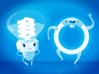 ELECTRIC BULB CHARACTER