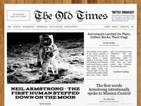 The Old Times Wordpress Theme