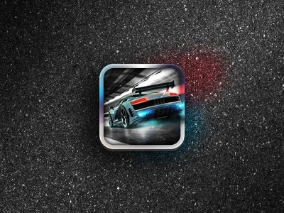 Racing Game Launcher Icon launcher icon game racing ui gui app