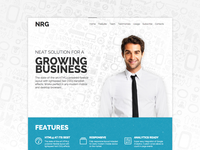 NRG 2.0 Responsive Landing Page Template
