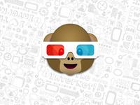 S3D Monkey Emoji