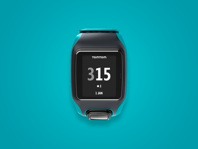 Tomtom Multisport Smartwatch user interface ui activity sport gps tomtom watch wearables