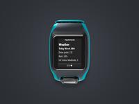Tomtom Multisport Smartwatch - Notification Screen
